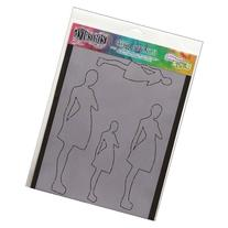 Ranger Dyan Reaveley's Dylusions Stencils, 9 by 12-Inch,