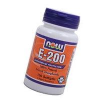 NOW Foods E-200 Mixed Tocopherols, 100 Softgels