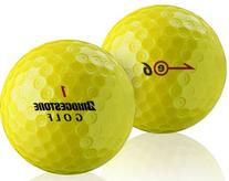 Bridgestone E6 Optic Yellow Golf Balls, 1 Dozen