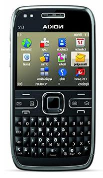 Nokia E72 Unlocked Phone Featuring GPS with Voice Navigation