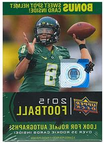 2015 Upper Deck Football Unopened Blaster Box of Packs with