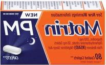PACK OF 3 EACH MOTRIN IB PM 80CP PT#30045056380