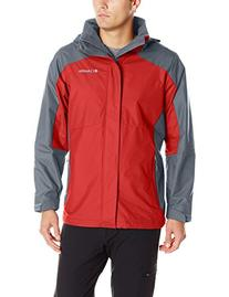 Columbia Men's Eager Air Interchange 3-in-1 Jacket, Rocket/