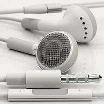 In-ear Stereo Headphones with Remote and Mic for Iphone 4 4s