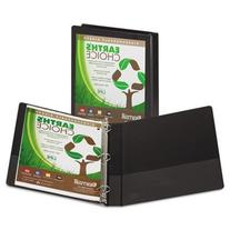 """Earth's Choice Biodegradable Angle-D Ring View Binder, 5"""""""""""