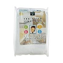 Earth Therapeutics Hair&Bdy Towel Ultra Wht 1 Ct