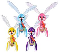 EASTER BUNNIES INFLATES- Four 42''INFLATABLE EASTER RABBITS/