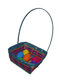 Easter Square Bamboo Basket Assortment-Includes 1; styles