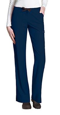 WonderWink Women's Easy Fit Cargo Scrub Pant, Navy, XX-Large