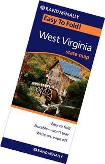 Rand McNally Easy To Fold: West Virginia