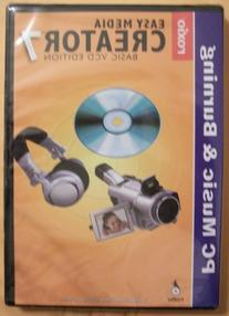 Roxio Easy Media Creator 7, Basic VCD Edition
