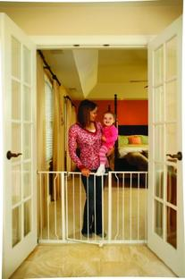 Regalo Easy Open Extra Wide 47 Inch Baby Gate, Bonus Kit,