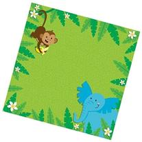 Easy Peasy Page Layout With 3-D Design 12X12-Jungle Animals