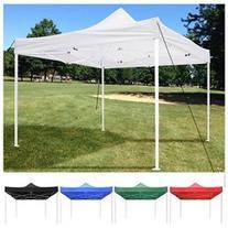 10'x10' Easy Pop Up Canopy Party Wedding Tent Folding Gazebo