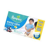 Pampers Easy Ups Training Pants Boys Size 5 3T/4T, 90 Count