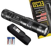 Nitecore EC20 960 Lumens 242 Yards Compact Cree XM-L2 LED