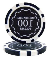 Brybelly Eclipse Poker Chips Heavyweight 14-gram Clay