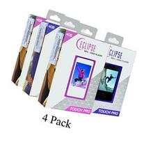 4-Pack Eclipse Touch Pro 4GB MP3 USB 2.0 Digital Music/Video