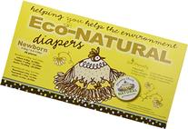 Broody Chick Eco-Natural Diapers, Size Newborn, 36 Count