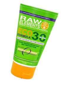 Raw Elements: Eco Formula 30+ Sunscreen, 3 oz, All Natural