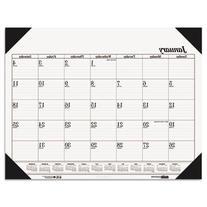 House of Doolittle Economy Refillable Desk Pad Calendar, 12