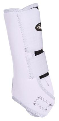 Tough 1 Economy Vented Front Sport Boots, White, Medium