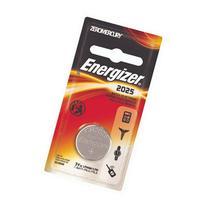 Energizer ECR2025BP Electronic Lithium 3V Batteries, Black/