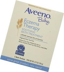 Aveeno Baby Eczema Therapy Soothing Baby Bath Treatment,