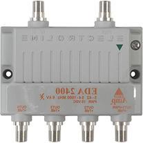 Electroline EDA-2400 4-Port Cable TV HDTV Signal Booster/