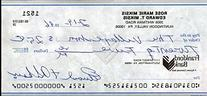 Eddie Miksis Dodgers Signed Jsa Cert Sticker Personal Check