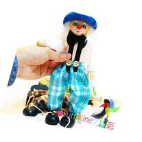 Children's Educational Toys Cute Clown Puppet Doll Toy