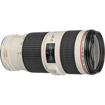 Canon EF 70-200mm f/4L IS USM Zoom Lens with Tripod + Ring