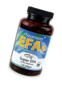 Swanson EFAs Super EPA Fish Oil - 100 Softgels - Superior