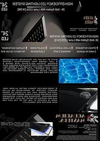 24 Inch LED High Efficiency Aquarium Lighting Fixture System