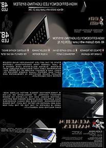 48 Inch LED High Efficiency Aquarium Lighting System Fixture