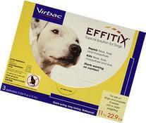 Virbac Effitix Flea/Tick Topical Solution, Small Dog, 3