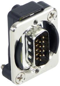 Switchcraft EHHD15MM HD15 Male to Male Feedthru Panel Mount