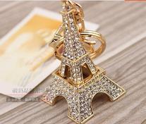 1 X Eiffel Tower Key Chain Favors
