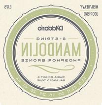 D'Addario EJ75 Phosphor Bronze Mandolin Strings, Medium/