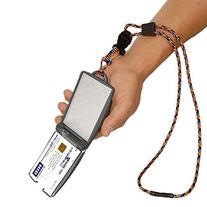 EK USA FIPS 201 One Hander ID Card Holder with Lanyard,