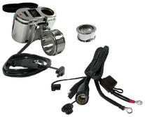 EKLIPES EK1-110 Chrome Cobra Ultimate Motorcycle USB