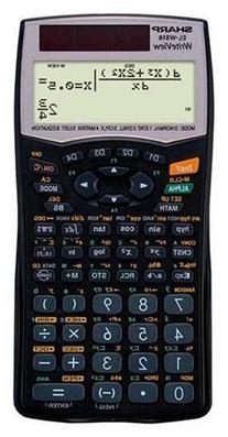 EL-W516B Scientific Calculator with WriteView