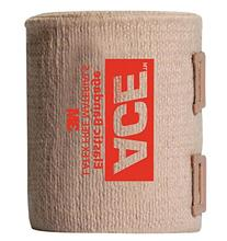 Ace Brand Elastic Bandage Bulk W/Clips - 4 inch wide - Case