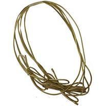 "JAM Paper Elastic String Tie - Medium - 16"" Loop - Gold"