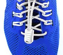 Elastolaces  No Tie Elastic Shoe Laces - 2 Additional Clips