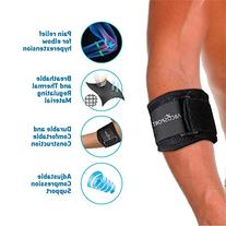 Elbow Brace - Pain Relief for Elbow Hyperextension -