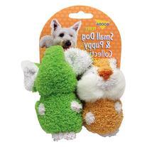 Booda Elephant/Chipmunk Dog Toy 2 Pack