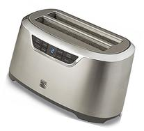 Kenmore Elite 4-Slice Auto-Lift Long Slot Toaster Stainless