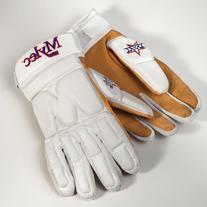 Mylec Elite Street/Dek Hockey Gloves, White, Medium