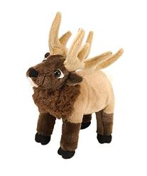 "Elk Cuddlekin 10"" by Wild Republic"